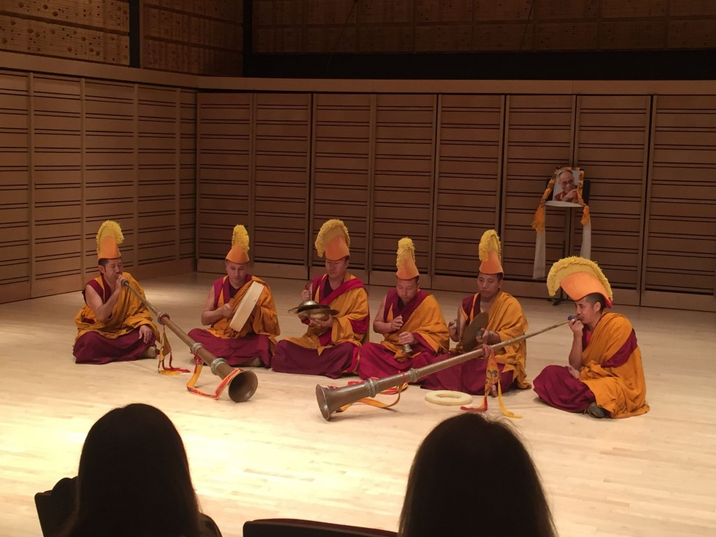 Performance of Tibetan culture.
