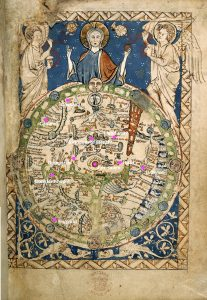 Psalter World Map