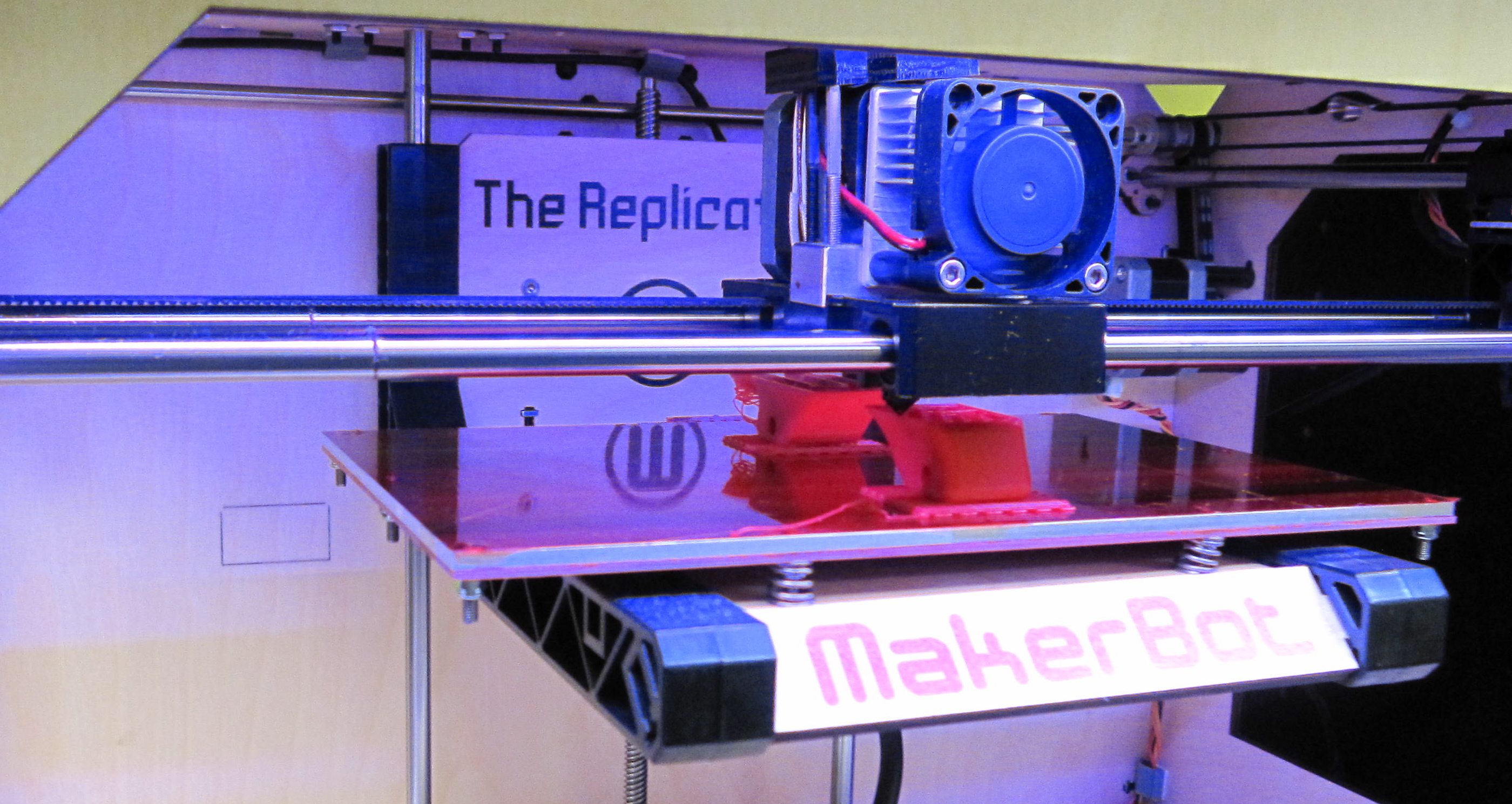 New Home for the Makerbot Replicator