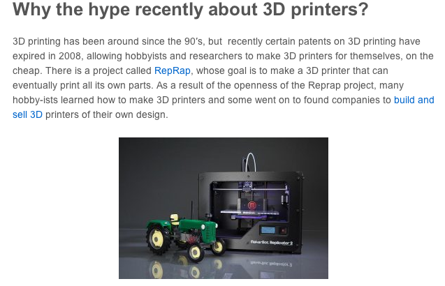 Everything you need to know about 3D Printing