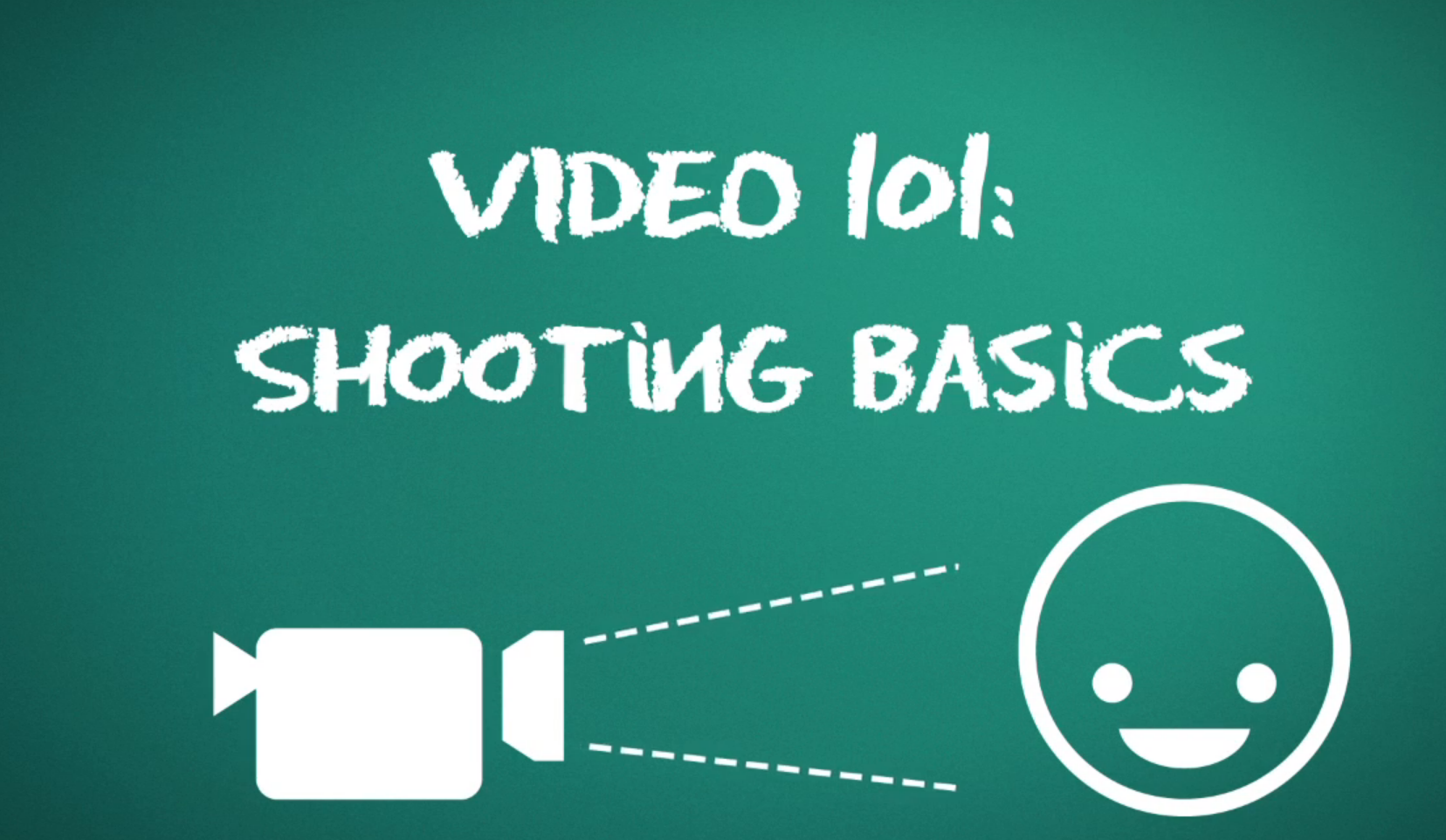 Video Shooting Basics