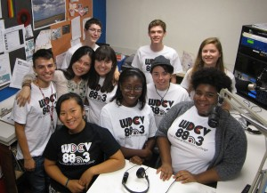 Campus Media Group Picture in the Radio station
