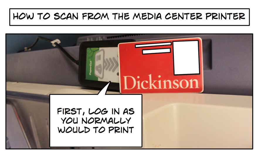 How to Scan From the Media Center Printer