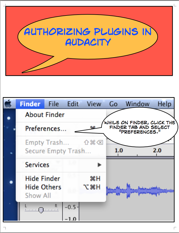 Authorizing Plugins in Audacity