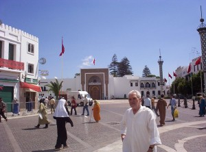 Royal Palace in Tetouan and entrance to the Medina
