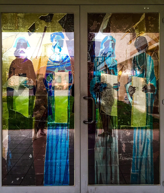 Church doors prato