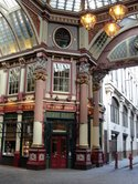 Here is an example of Leadenhall Market's interior!