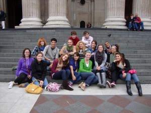 In Front of St. Paul's Cathedral (Take 2)