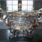 Giant Silver Punch Bowl at the V&A