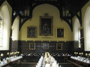 The Dining Hall at Oriel College