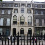 Outside of Sir John Soane's home
