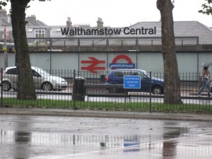 Front of Walthamstow Station