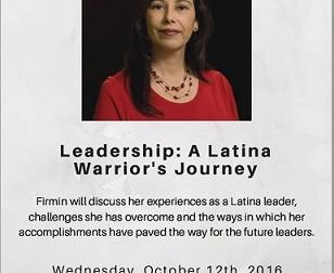 A Latina Leader: Lisa Firmin