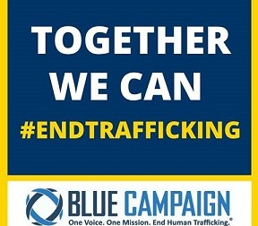 January: National Slavery and Human Trafficking Prevention Month