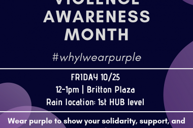 Why I Wear Purple
