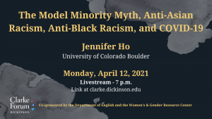 Dr. Jennifer Ho: The Model Minority Myth