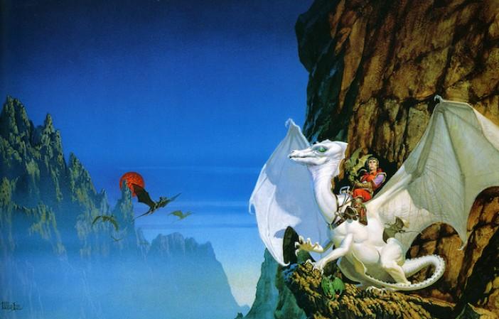 michael whelan_anne mccaffrey_pern_the white dragon