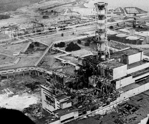 Nuclear Reactor 4 Meltdown at Chernnobyl