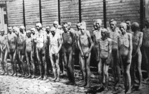 Naked Soviet POWs