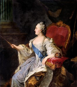 Portrait of Catherine II (1763)