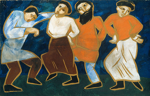"""Peasants Dancing"" Goncharova (1911) http://nga.gov.au/international/catalogue/Images/LRG/156812.jpg"