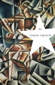 Cover for We by Yevgeny Zamyatin