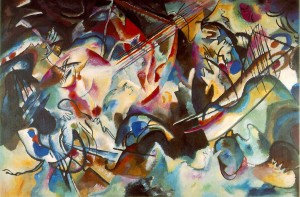 Later Kandinsky, Composition 6, 1913.