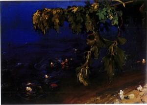 Irina, Acacia Branch Above the Sea 1908, inspired Scheherazade later