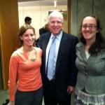 Dickinson Russian Language interns meet Senator McCain in DC