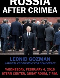 Russia after Crimea poster