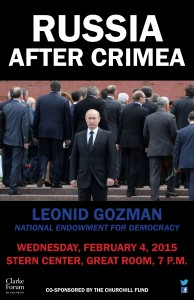National Endowment for Democracy Russia after Crimea On February 4, Leonid Gozman, president of the Union of Right Forces, professor of political psychology at Moscow State University, and Visiting […]