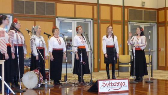 Svitanya performing