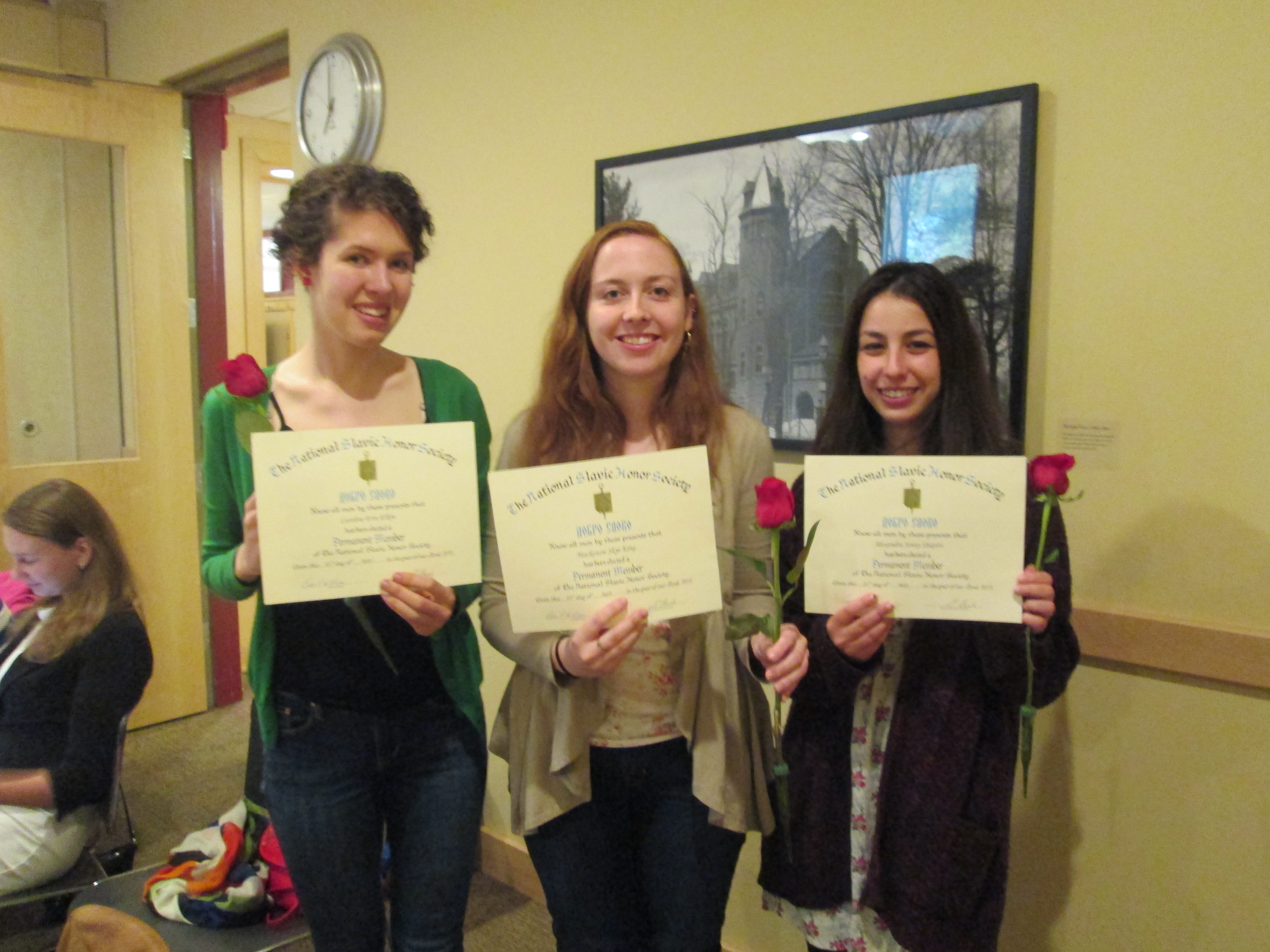 At Russian Table on Tuesday, April 28, three graduating seniors in the Russian Department were inducted to the Dobro Slovo National Slavic Honor Society. Caroline Elkin, Mackenzie King, and Alexandra […]