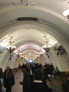 Fiona Burke '18 reflects on her time in Moscow