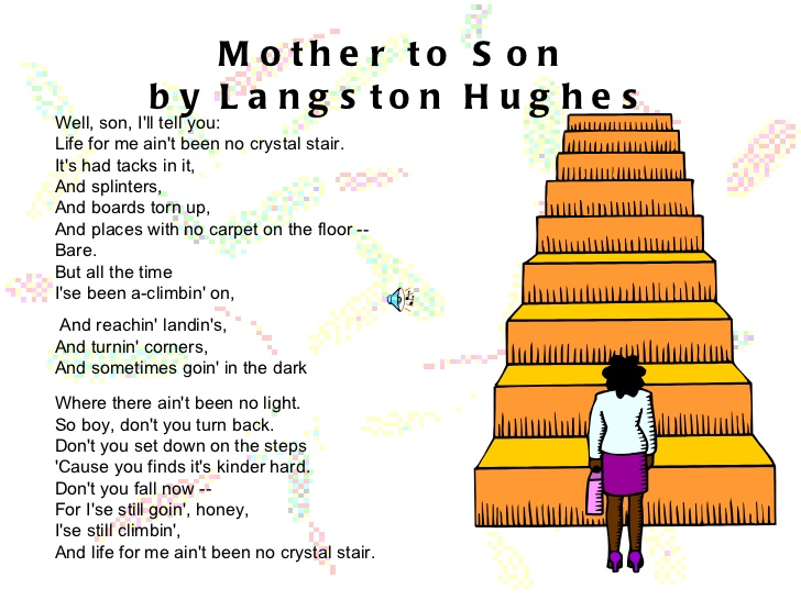 an analysis of langston hughes who speaks of negro struggle
