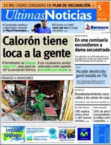 La revista para que Díaz Rangel escribe
