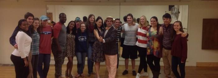 Yoel Cuban dance workshop Dickinson e