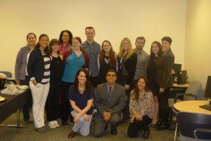 Colloquium presenters and Spanish & Portuguese Dept. faculty