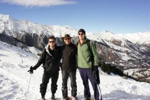 Conor, notre guide Michel, Gibson