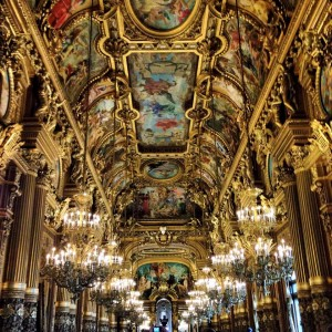 Le Grand Foyer at the Palais Garnier. Photo by Caitlin DeFazio.