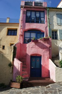 Les maisons colorées de Collioure; Photo de Laura Raynaud