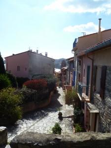 Des maisons typiques de Collioure