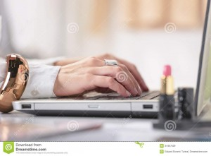 close-up-fashion-hand-s-woman-blogger-working-creative-w-young-typing-laptop-her-office-34467629